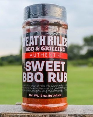 Heath Riles-BBQ Sweet Rub-16oz