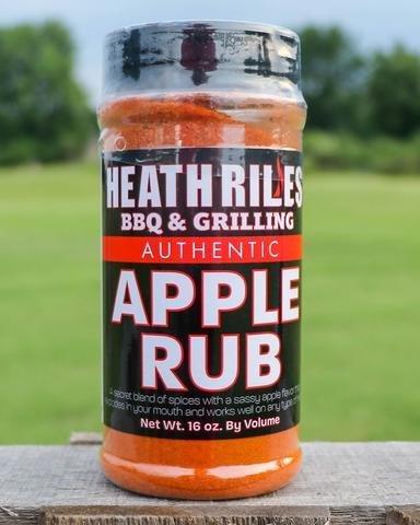 Heath Riles- BBQ Apple Rub-16oz