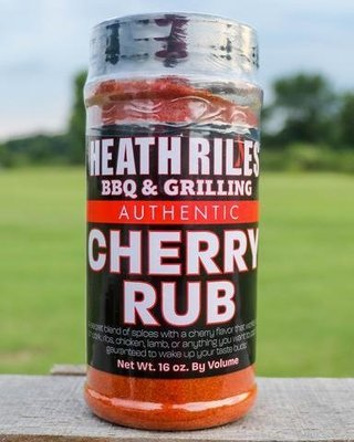 Heath Riles-BBQ Cherry Rub-16oz