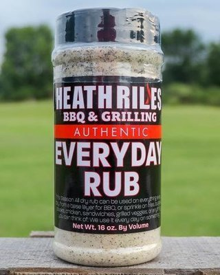 Heath Riles-BBQ Everyday Rub-16oz