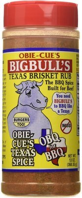 Obie-Cue's Big Bull Brisket Rub