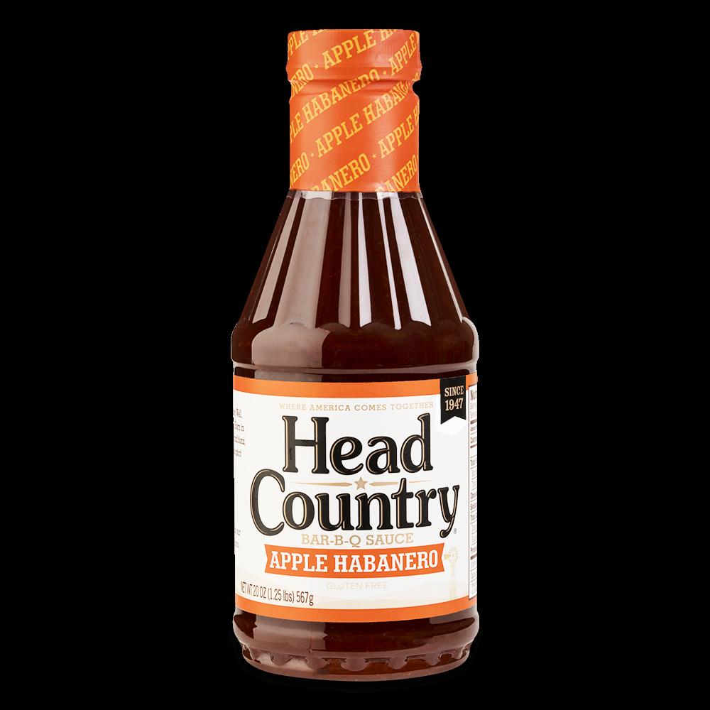 Head Country Apple Habanero- 20oz