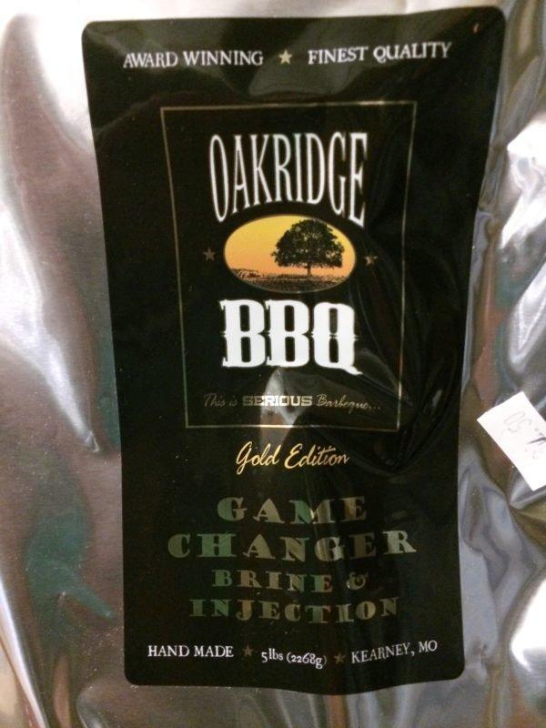 Oakridge BBQ Game Changer® All Purpose Brine, 5 lb