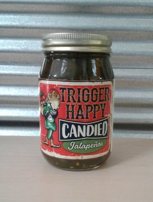 Trigger Happy BBQ- Candied Jalapenos