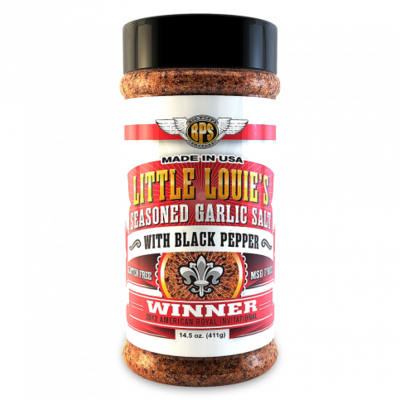 Big Poppa Smokers Little Louie's Garlic Salt w/ Black Pepper - 14.5oz