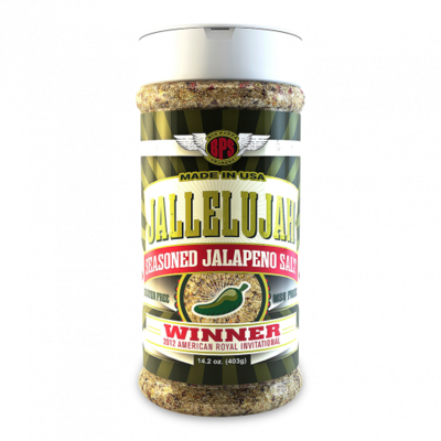 Big Poppa Smokers-Jallelujah Seasoned Jalapeno Salt - 14oz