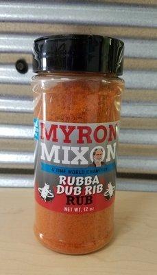 Myron Mixon-Rubba Dub Rib Rub