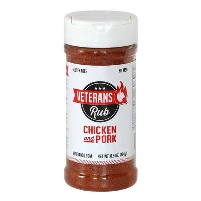 Veteran Q- Chicken and Pork Rub- 6.5oz