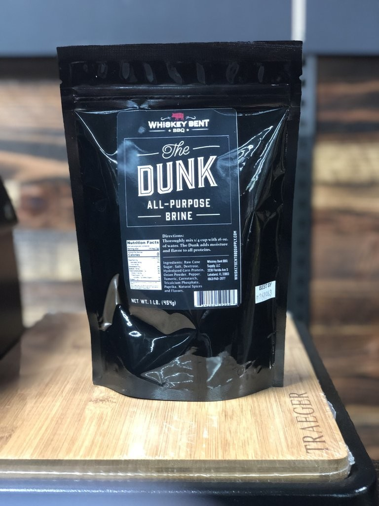 Whiskey Bent- The Dunk- All Purpose Brine