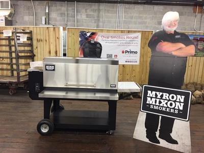 Myron Mixon- BARQ 3600 Pellet Grill- Large