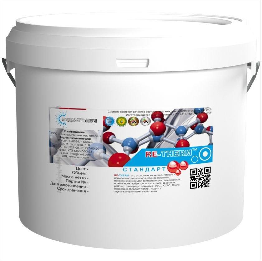 Жидкая теплоизоляция RE-TERM (10 кг)