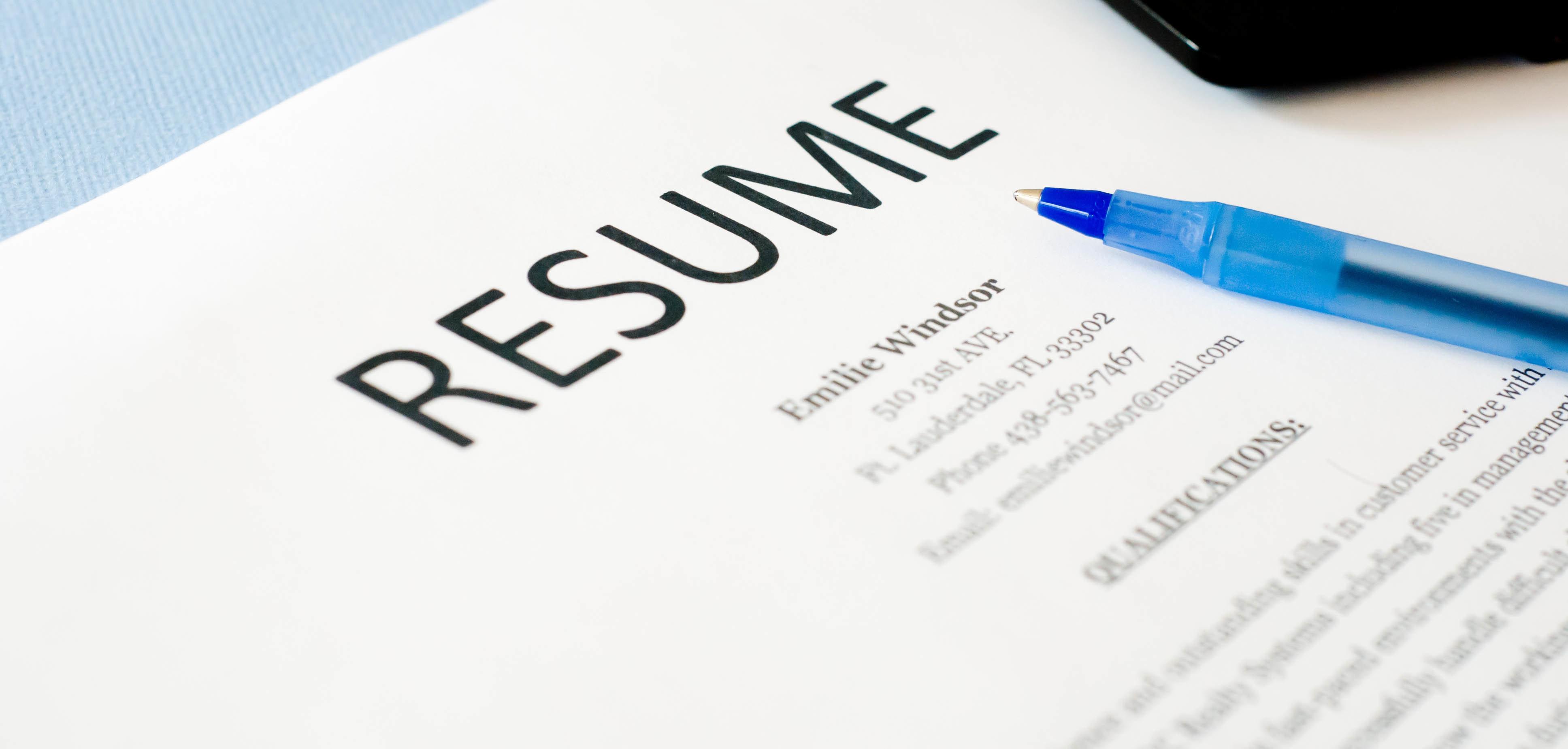 Resume Variations Writing 00045
