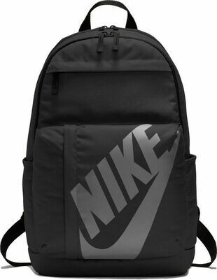Nike Elemental Backpack (In Black with Grey Nike Tick) 'Best Seller'