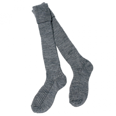 Knee Length Boys Socks in Grey