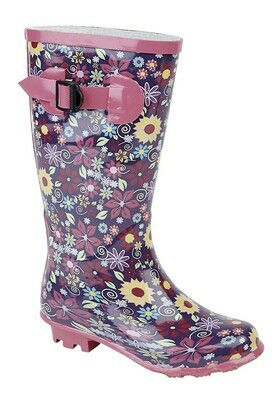 Girls Wellie (Size 10 - Size 2) (RCSW153PM)