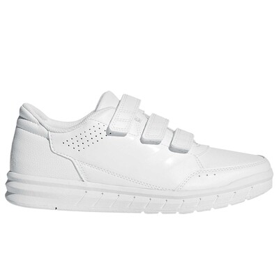 Adidas Alta Sport Trainer (White with non-marking sole)