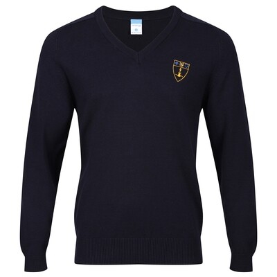 Inverclyde Academy Knitted V-neck