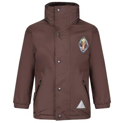 St Francis Primary Heavy Rain Jacket (Fleece lined)