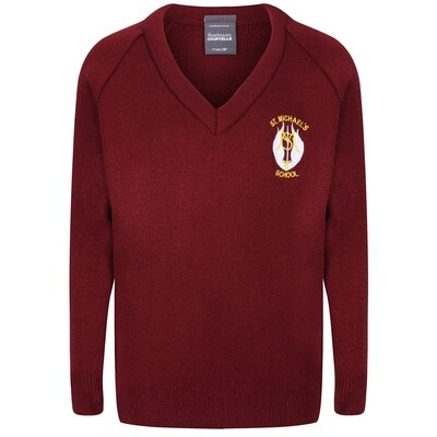 St Michael's Primary Knitted V-neck
