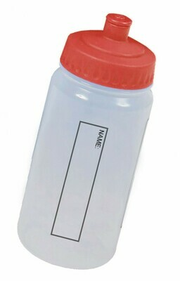 Water Bottle (With Red Lid) 'Best Seller'