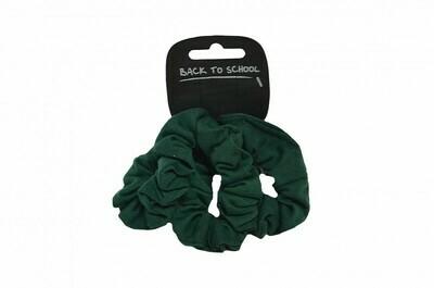 Scrunchies (Pack of 3) (In Bottle Green)