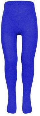Cotton Tights in Royal (1 Pair Pack) (From Age 4) 'Best Seller'