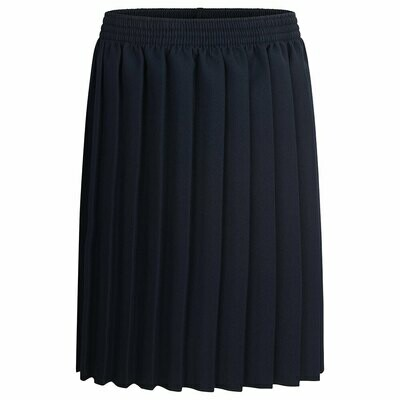 Primary School 'Knife Pleat' Skirt in Navy (From Age 3-4)