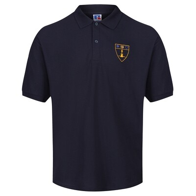 Inverclyde Academy PE Polo Shirt (Navy) for Girls