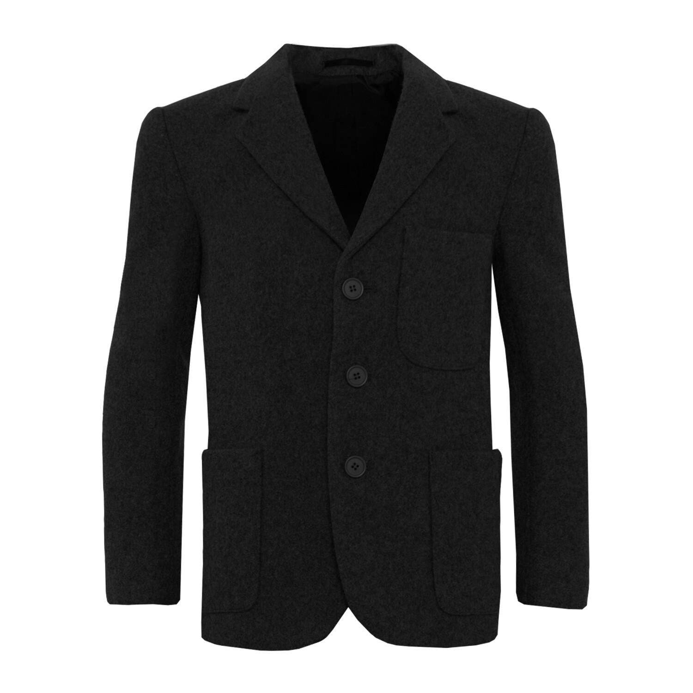 Black Wool Blazer (Unisex)
