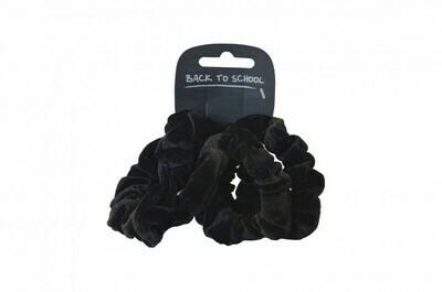 Velvet Scrunchies (Pack of 3 - choice of colours)