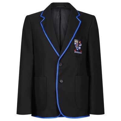 Largs Academy Polyester Blazer with Braid