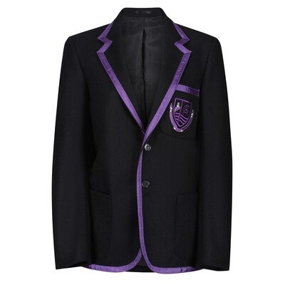 Clydeview Academy Wool Blazer with Braid