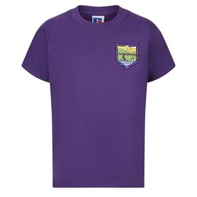 Craigmarloch Primary PE T-Shirt in Purple