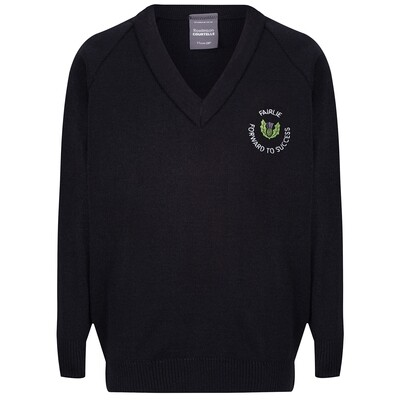 Fairlie Primary Knitted V-neck (choice of colour)