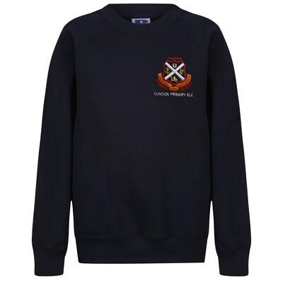 Dunoon Primary ELC Sweatshirt in Navy