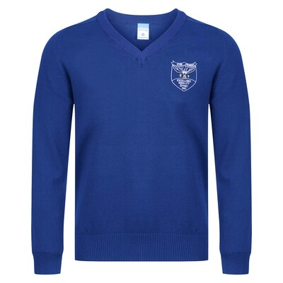 Kirn Primary Knitted V-neck (choice of colours)