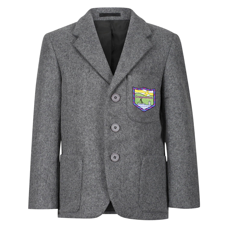 Craigmarloch Primary 'Wool' Blazer (Made-to-Order)
