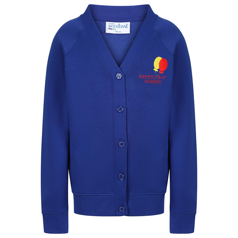 Wemyss Bay Nursery Sweatshirt Cardigan