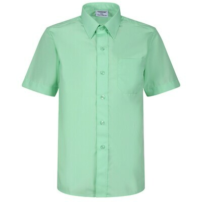 Short Sleeve Blouse in Green for Girls by Banner
