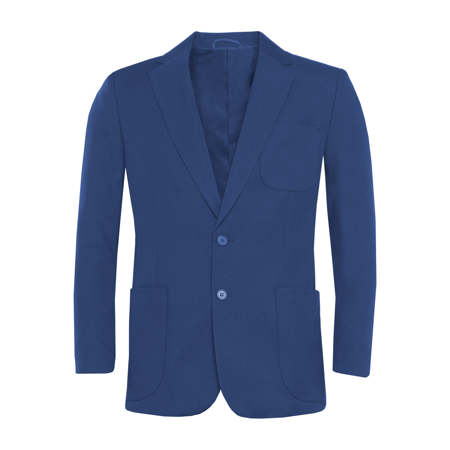 Royal Polyester Blazer for Boys