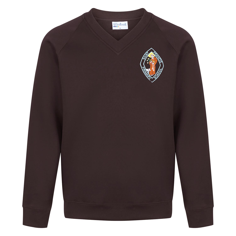 St Francis Primary Sweatshirt (V-Neck)