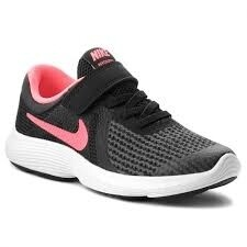 Nike 'Revolution'' in Black/Pink (Size 10 to 3)