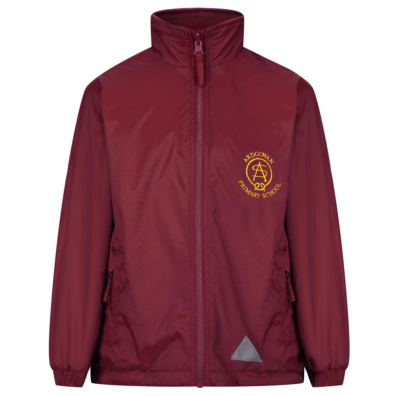 Ardgowan Primary 'Lightweight' Rain Jacket (Fleece lined)