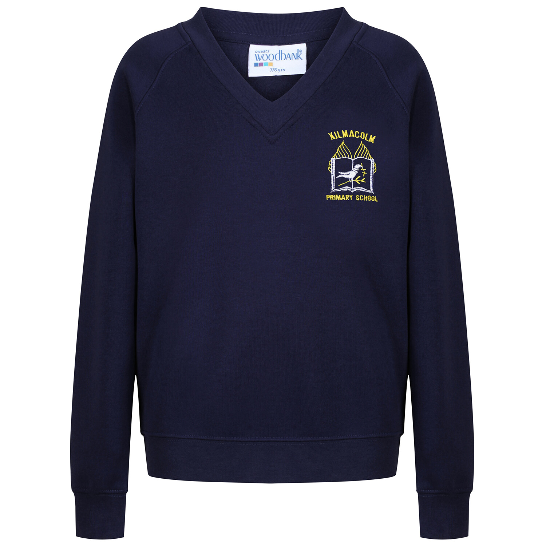 Kilmacolm Primary Sweatshirt (V-Neck)