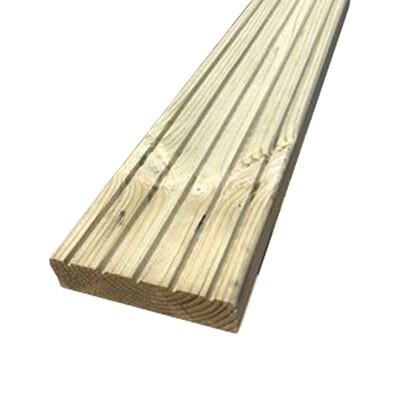 Premium Tanalised Decking (4.8m Lengths)