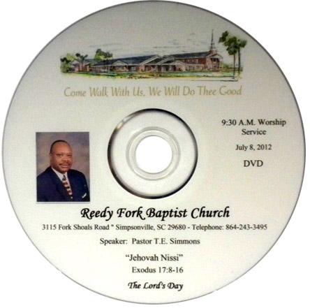 Sermon DVD