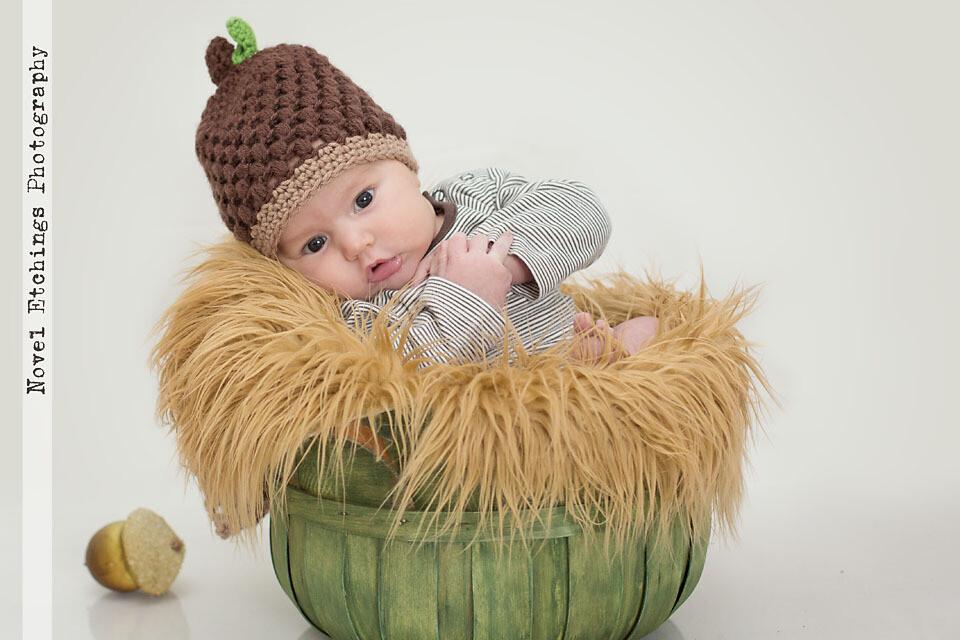 Acorn Beanie Crochet Pattern