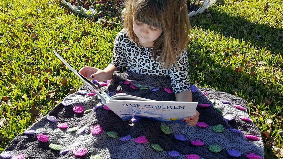 Buttons Blanket Crochet Pattern