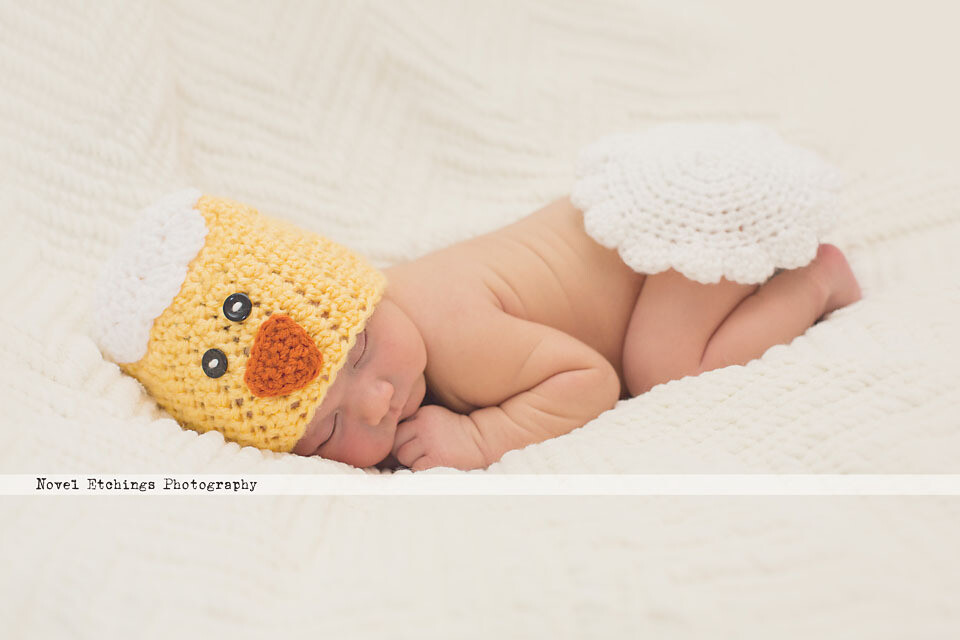 Chick and Egg Baby Crochet Pattern