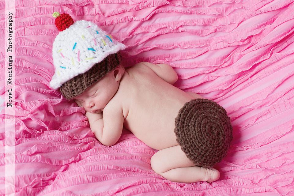 Cupcake Baby Crochet Pattern